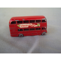 Matchbox Serie 1-75 Nº 5 Routemaster Bus Ruedas Grises.