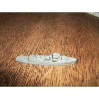 Antiguo Juguete Barco De Plomo Albacore Kl Aleman Modelo 61