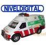 Camioneta Ambulancia Same A Fricción Interior Abre Puertas