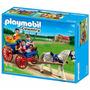 Playmobil Carrueaje Con Caballos Cod 5226