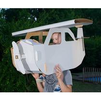 Avión Gigante De Cartón - Juguete Ecológico -
