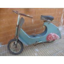 Antigua Moto A Pedal Vespa Para Restaurar