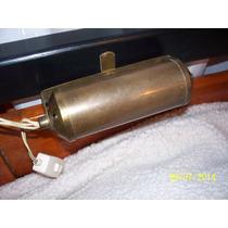 Velador Antiguo (vintaje) De Bronce Para Respaldo De Cama