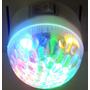 Luz De Noche Led Velador Bola Circulo Enchufe Bajo Consumo
