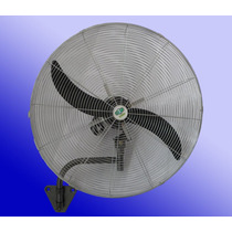 Ventilador Industrial 30 / 75 Cm Pared Giratorio 250 Watts