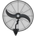 Ventilador De Pared 30´ Pulgadas Industrial 3v Potencia 250w