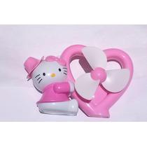 Ventilador Kitty Recargable Unico Enmercado Libre!!!!