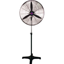 Ventilador Industrial Pie Motor Potente 200 Watts Local Gtia