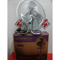 Ventilador De Pie Winco W-18ia 3 En 1