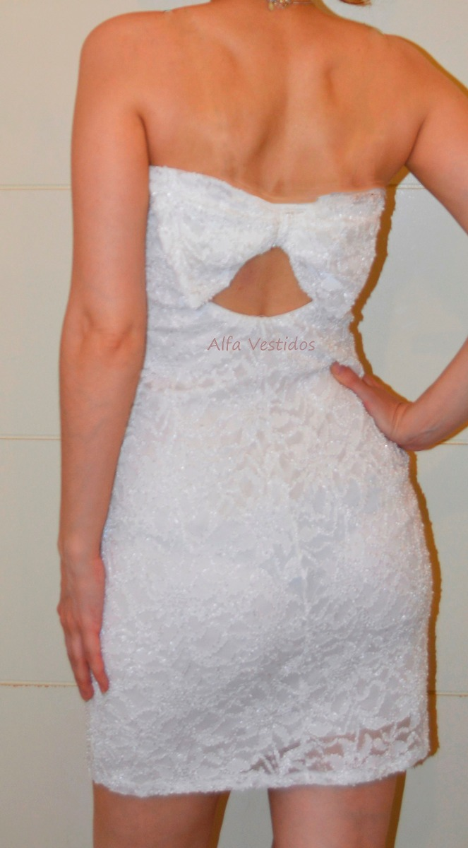 Vestido de novia de encaje elastizado
