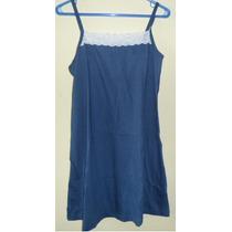 Vestido Juana Bonita - Vestido Azul Talle 46-48