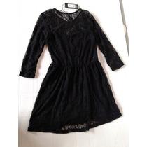 Vestido De Encaje Negro Como Quieres Que Te Quiera 38