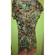 Onda Vintage Vestido Super Fresco Talle M