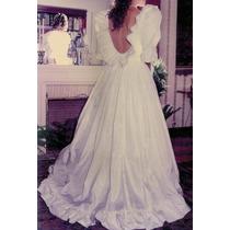 Vestidos Novia, 15 Años Fiesta Princesa Lady Di Tafeta Seda