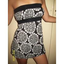 Vestido Combinado Negro Y Blanco Ona Saez