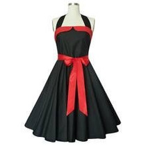 Vestido Pin Up Vintage Rockabilly Tattoo Estilo 50s Fiesta,