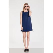 Vestido Azul Fontana Verano 2016 Estancias Chiripa