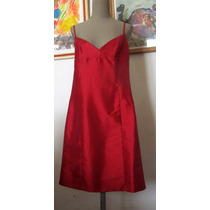 Vestido Rojo Claudia Larreta Fiestas - Casamientos Navidad
