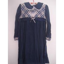 Vestido Para Nena Azul Marino