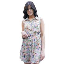 Clippate Mujer Vestido De Seda Camisa Estampada Envío Gratis