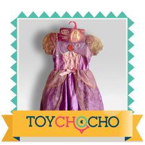 Hermoso Vestido Princesa Importado Usa!!!, Tipo Disney