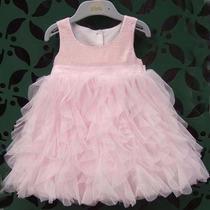 Vestido De Nena Fiesta Bautismo Importado
