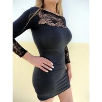 Finos Vestidos Modal- Detalles Encaje,diseños Propios
