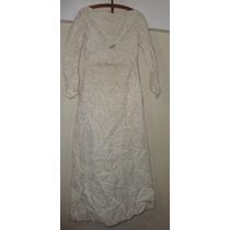 Vestido De Casamiento Año - 1966- Excelente Estado