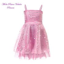 Vestido Nena Princesas Egresadita Cumple Fiesta Moda Pasion
