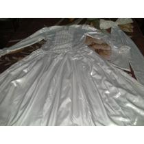 Vestido Blanco Novia/15 Años