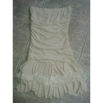 Vestido Strapples Fiesta Corto Para 15 O Casamientos