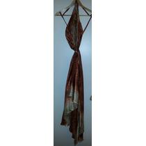 Vestido Hindú Largo Importado Talle Único C/bretel