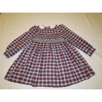 Vestido De Nena A Cuadros. Comprado En Usa.