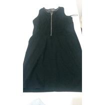 Vestido Zara Negro Corto Fiesta