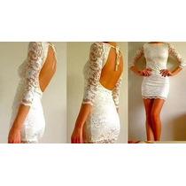 Vestido Civil, Vestido Casamiento, Vestido De Encaje