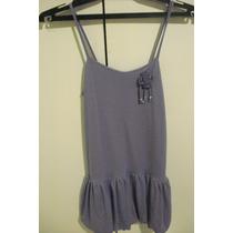 Vestido De Nena Color Violeta Talle 12