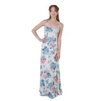 Vestido Largo,estampado ,en 3 Talles ,ideal Para Toda Ocasio