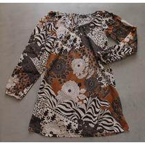 Vestido Importado De España-100%algodon! T.s