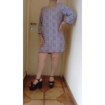 Tunica Vestido De Fibrana Caballito Devoto Envíos!!!!