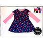 Vestido Modal Nena Talle 2-4-6-8 + Vincha De Regalo!!!