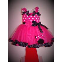Vestido De Minnie. Hermosos Y Unicos
