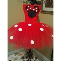 Vestido Dizfras De Minnie Mouse