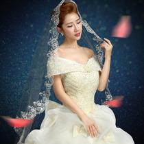 Vestido De Novia Nuevo2016 C/cola 1mts(directo China)#sxy177