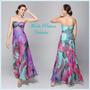 Vestido Multicolor Verano 2016 Talle Grande Xl Moda Pasion