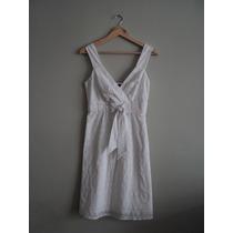Vestido De Verano Blanco Importado.