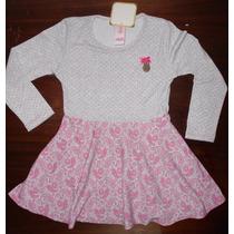 Vestidos De Nena En Modal Invierno Muy Buena Calidad Tipoteo