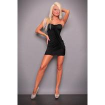 ¡ Lindo! Mini Vestido De Jersey De Seda Strapless En T: M.