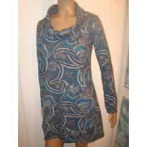 Vestido Azul Neobarroco Para Calzas. Diseño Exclusivo...