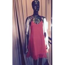 Vestidos De Gasa Sueltos Espalda Descubierta - Varios Colore