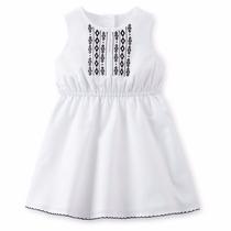 Clippate Vestido Bordado Beba Carters 2 Años Nena Importado